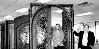 The Faces of Quality Custom Doors - Casey Yosin & Craig Yosin — Hardwood Door & Bevel or Iron Doors by HDB